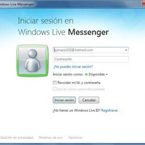 Como marcar un contacto como no admitido en Messenger 2011