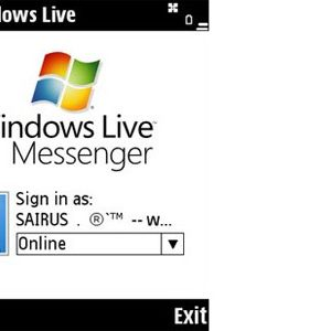 Windows Live Messenger en BlackBerry