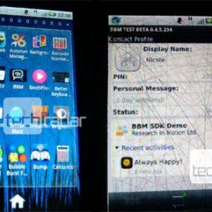 Lo nuevo de  BlackBerry Messenger