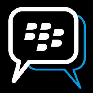Televisión en Black Berry Messenger