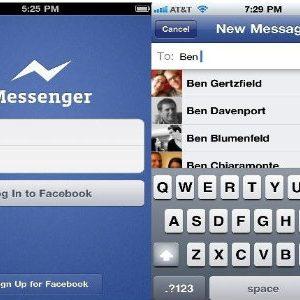 Facebook Messenger en el escritorio